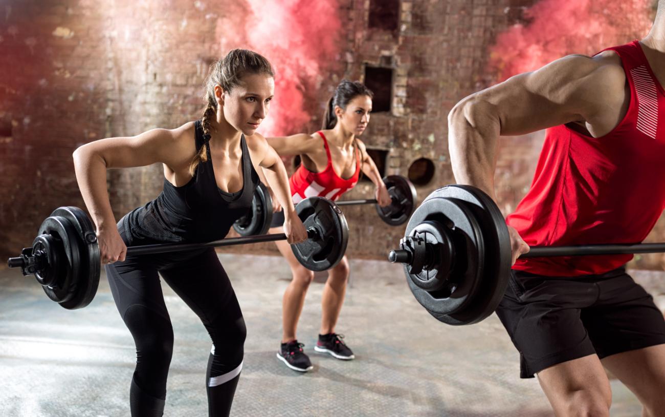 YOU-fit Langhantel Workout